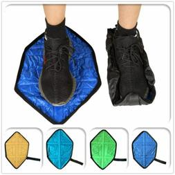 1 Pair Hands-Free Adults Reusable Shoe Covers Waterproof Sho