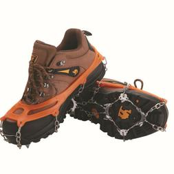 1 Pair Ice Snow Boot Shoe Covers Spike Cleats Crampons Gripp
