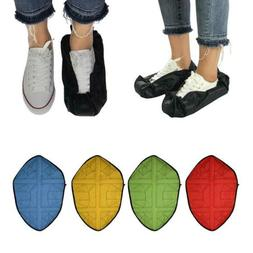 1 Pair Step In Sock Hand Free Reusable Shoe Covers Durable B