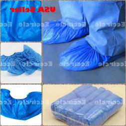 100/1000 x Disposable Shoe Covers Waterproof Anti Slip Boot