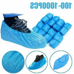 100/1000 x Waterproof Anti Slip Boot Cover Disposable Shoe C