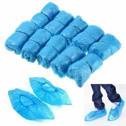 100-1000PCS Medical Blue Shoe Covers Non Slip Disposable Flo