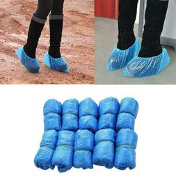 100-2000 Boot Covers Plastic Disposable Shoe Covers Overshoe