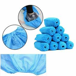 100~2000PC) Disposable Shoe Covers Non-Slip Water Resistant