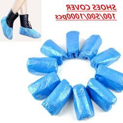 Disposable Blue Shoe Cover CPE Plastic Overshoes
