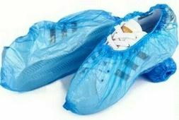 100 Disposable Shoe Covers Waterproof Overshoes Protector Za
