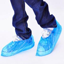 100 PACK -Disposable Shoe-Covers For Medical/Lab Safety   rf
