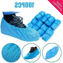 100 Pack Shoe / Boot Covers Disposable 50 Pairs UNIVERSAL Si