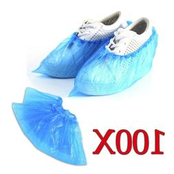 100 Pack Shoe Covers Disposable Hygienic Boot Cover for Work
