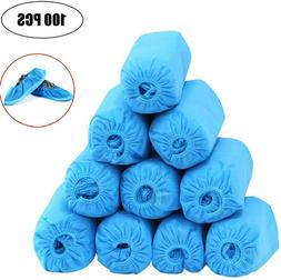 100 Pcs  Shoe Covers - Disposable, Anti Skid, Non Woven Fabr