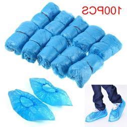 100 pcs disposable plastic shoe covers cleaning