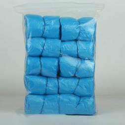 100 Pcs/Lot Disposable Plastic Anti Slip Shoe Covers For Sho