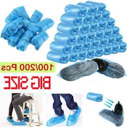 100 PCS Waterproof Boot Covers Disposable Shoe Cover Big Siz
