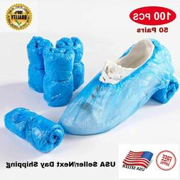 100 pcs waterproof boot covers disposable shoe