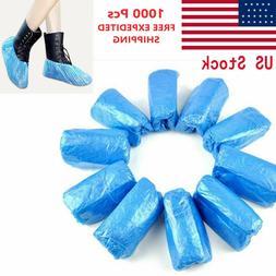 1000 Pcs Waterproof Plastic Shoe/Boot Cover Floor/Shoe Prote