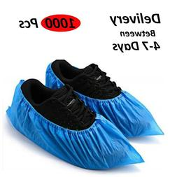 1000 x Disposable Shoe Covers Overshoes Lot Water Proof Anti