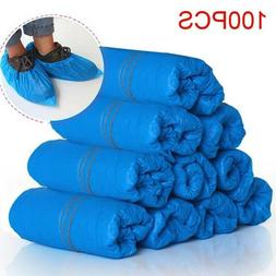 100Pack Home Disposable Shoe Covers Elastic Foot Feet Cover