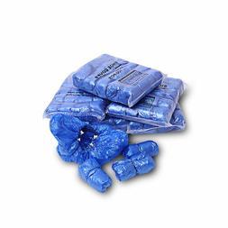 100PCS DISPOSABLE PLASTIC ANTI SLIP AUTOMATIC SHOE COVERS FO