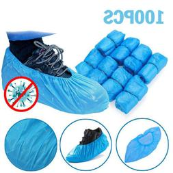 100Pcs Disposable Shoe Cover Non-woven Protection Overshoes