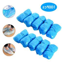 100Pcs Disposable Shoe Cover Waterproof Boot Covers Anti Sli