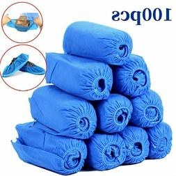200PCS Disposable Shoe Covers Indoor Cleaning Floor Non-Wove