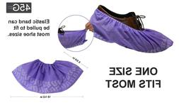 100Pcs Disposable Shoe Covers Non-woven Non-Slip Water Resis