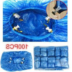 100PCS Disposable Shoe Covers T Buckle for Automatic Shoe Co