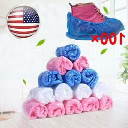100pcs Thick Disposable Home Shoe Cover Non-slip Medical Boo
