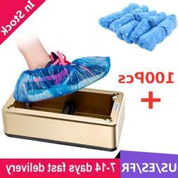 100pcs Thickening Non-woven Shoe Cover Non-slip Disposable S