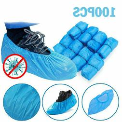 100pcs Waterproof Anti Slip Boot Cover Disposable Shoe Cover