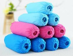 100Pcs Waterproof Disposable Non-woven Fabrics Shoe Covers O