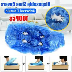 100X Disposable Shoe Covers T Buckle for Automatic Shoe Cove