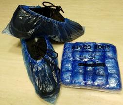 100x Waterproof Boot Shoe Covers Plastic Disposable Overshoe