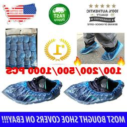 100x waterproof disposable shoe covers overshoes protector