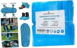 | 120 Pack  Extra Thick Disposable Shoe & Boot Covers | Dura