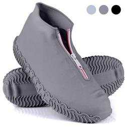 1P Reusable Silicone Overshoes Waterproof Shoe Covers Shoe P