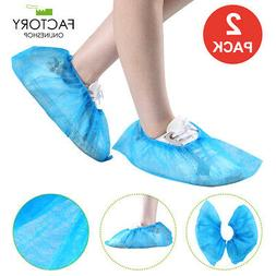 2/10/50/100 PCS Disposable Shoe Covers Boot Fabric Overshoes