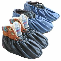 Premium Washable Reusable Shoe Covers Waterproof Boot Covers