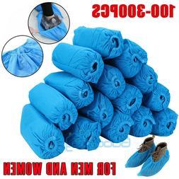 200-400Pcs Disposable Shoe Covers Non-woven Non-Slip Water R
