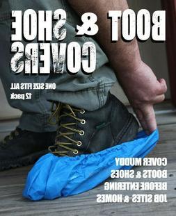 200 pair case Disposable Waterproof Shoe Covers ,industria