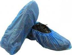 """Disposable Polypropylene Blue Shoe Covers 16"""" Shield Safety"""