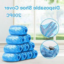 200Pcs  Disposable Boot & Shoe Covers, Anti Slip and Protect