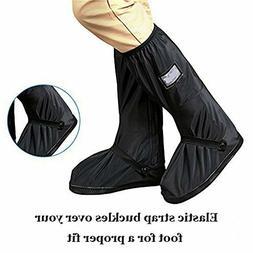 2019 PREMIUM Rain Shoe Covers with Thicken Nonslip Rubber So