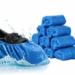 300 Pcs Disposable Shoe Covers Waterproof Slip Resistant Dus