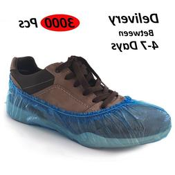 3000 x Disposable Shoe Covers Overshoes Lot Water Proof Anti