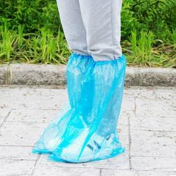 5 Pairs High Quality Durable Waterproof Disposable Rain Shoe