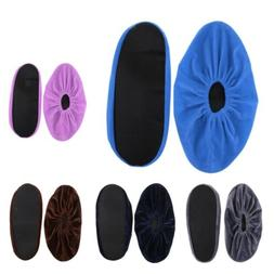 5 Pairs Premium Shoe Covers Washable Reusable Non Slip Overs