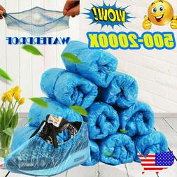 500 2000x disposable plastic shoe covers cleaning