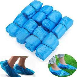 500 Pairs Plastic Disposable Shoe Boot Cover Carpet Floor Pr