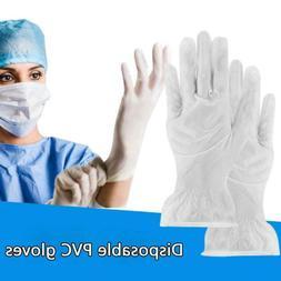 50pairs Disposable Gloves Dustproof Waterproof Elastic High